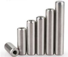 304SS Ø4mm 5mm 6mm 8mm 10mm Ø25mm Threaded Dowel Pin Rod