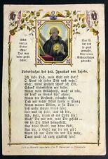 Ignatius de Loyola peregrinaje antiguo andachtsbild santos imagen Einsiedeln (o-4944