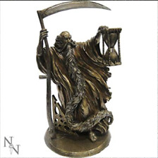 NEW CHRONOS STATUE ORNAMENT GOD FATHER OF TIME WILLOW HALL NEMESIS NOW BOXED