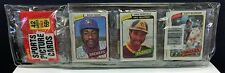 1980 Topps Unopened Factory Sealed Baseball Rack Pack (42 cards) Dave Winfield