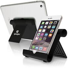 Nero Alluminio Supporto Portatil Regolabile Pieghevole per iPad Tablet Kindle
