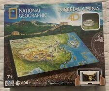 4D Puzzle National Geographic Imperial China 600 Pieces New Factory Sealed