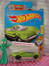 Case J/K 2016 i Hot Wheels Muscle Speeder #127✰Sublime Green; mc5✰Muscle Mania