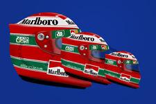 More details for eddie irvine ferrari f310b f1 1997 helmet sticker - scuderia gp
