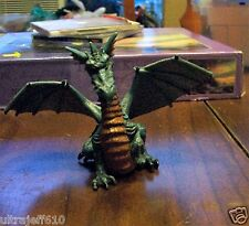 PAPO 2005 Blue / Grey / Rust Winged Dragon Figure