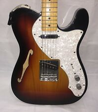 Fender 1969 Vintage Telecaster Thin line Electric Guitar- 2 Color Sunburst- 2008