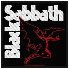 BLACK Sabbath-Patch ricamate-creature Devil 10x10cm