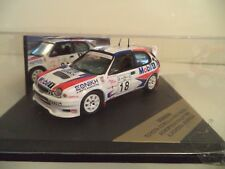 SKID TOYOTA COROLLA WRC MOBIL 1  RALLY 1999 1/43RD SCALE    IN  CASE.