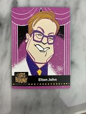 Lights of Broadway Elton John Card From The 2019 Series