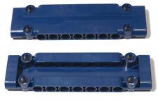 LEGO Technik - 2 x Panel Platte 3x11x1 dunkelblau / Panel Plate / 15458 NEUWARE