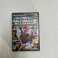 Marvel: Ultimate Alliance (Sony PlayStation 2 2006) PS2 Good Condition Free Ship