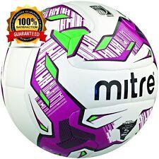 Mitre Manto V12S Match FIFA Inspected Ball - White/Purple/Black - 5