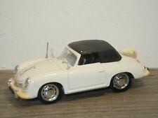 Porsche 356 Convertible (Closed Roof) Rijkspolitie - Brumm Italy 1:43 *37058
