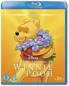 Many Adventures of Winnie the Pooh [Blu-ray] [Region Free] [DVD][Region 2]