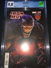 Iron Man #4 CGC 9.8 - Rapoza Knullified Variant Cover - 2021