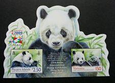 Pitcairn Islands Vanuatu Joint Issue Panda 2009 Hong Kong (ms) MNH *odd *unusual