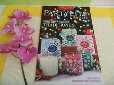 Partylite Hauptkatalog Katalog Herbst / Winter 2015 für Sammler !!! NEU / OVP