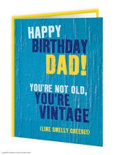 BrainBox CANDY Papá Padre Daddy Cumpleaños Tarjetas de felicitación desagradable
