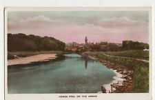 Howes Pool On The Annan RP Postcard, B402