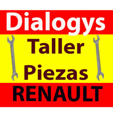 RENAULT DIALOGYS MANUAL Taller piezas Spain Spanish