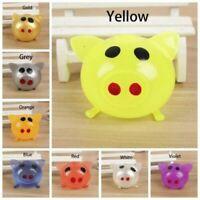 1/8Pcs Jello Pig Cute Anti Stress Splat Water Pig Ball Vent Toy Venting Sticky