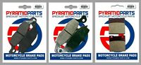 Front & Rear Brake Pads for Suzuki GSF600 Bandit 2000-04