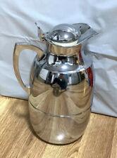 Alfi Chrome Carafe Thermos 1 Liter Germany Vacuum Seal Estate Sale Find
