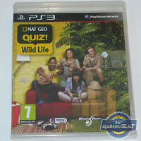 Nat Geo Quiz! Wild Life - PlayStation 3 PS3 Game PAL New Sealed - 1st Class Post