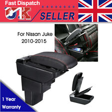 Centre Console Armrest Box Black To Fit For Nissan Juke (2010-2015) UK