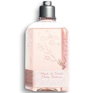 L'occitane Cherry Blossom Bath Shower Gel 8.4fl.oz/248ml NEW [Free USA Shipping]