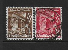 1935 Germany 12th Anniversary 1st Hitler Putsch SG595-596 good/fine Used