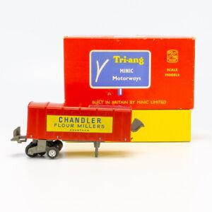 Tri-ang Minic Motorways - RM 924 Road/Rail Box Wagon - OO Gauge Slot Car - Boxed