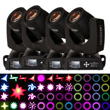 4 x 230W 7R Beam Zoom Moving Head Stage Light 16 Prism Effect DMX Show DJ Party