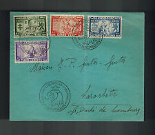 1945 Luxembourg First Day Cover  FDC Liberation From Germany # B117-B120