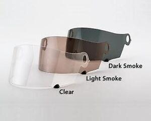 Visière Pour Suomy Extreme Exceller Apex SPEC1R Transparent Et Fumée