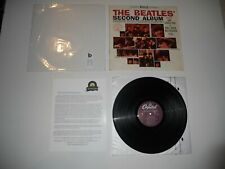 Beatles Second Album in shrink '78 EXC Analog USA Press ST 2080 ULTRASONIC Clean