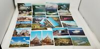 Vintage 28  Souvenir Picture Postcards Of Michigan Canada Niagra Falls Misc.