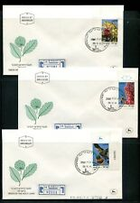 Israel 1981 Trees of the Holyland Cutout on FDC Rare. x30818