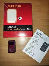 SanDisk Sansa Clip Plus mp3-Player 4 GB