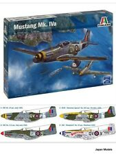 MUSTANG MK. IVA Decal 4 Versions Italeri No.2745 1/48 Model Kit Aereo Plane New
