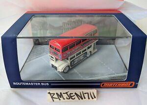Matchbox 2021 Premium Wheyhemes Double Decker Routemaster Bus - IN HAND **READ**