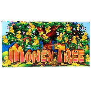 Money Tree Aristocrat Poker Pokies Gaming Machine Advertising Game Artwork 2000