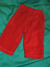 """RED trousers for 3 - 9 months boy girl soft & warm, never worn -  by """"OLD NAVY"""""""