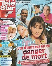 Télé Star N°1874 - 27/08/2012 - Isabelle Adjani - Nathan Fillion -Laurent Ournac