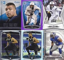Kyle Van Noy 2014 Rookie card RC lot of 6-Bowman Purple / Topps Chrome-Refractor