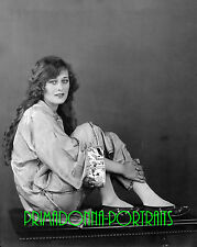 DOLORES COSTELLO 8X10 Lab Photo 1920s Delicate Curls, Silent Era Portrait