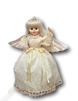 """Angel Doll 24"""" Motionettes of Christmas Original Box Tiara Candlelight Wings"""