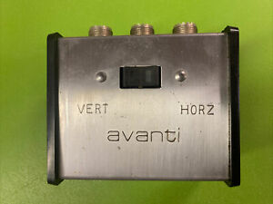 Avanti Vertical Horizontal Antenna Switch (vintage)