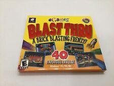 """Breaktime Blast Thru"" PC CD-ROM Vintage Rated E Original Sleeve"