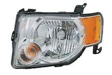 NEW 08 09 10 11 12 Headlamp Headlight Driver Fits Ford Escape W/ Chrome Bezel